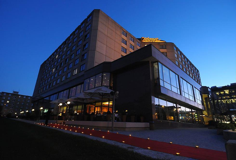 Diplomat hotel conference center prague allcongress for Hotels in prague centre