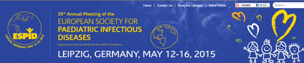 33RD ANNUAL MEETING OF THE EUROPEAN SOCIETY FOR PAEDIATRIC ...