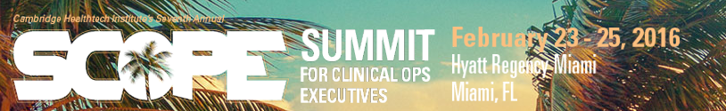Summit for Clinical Ops Executives