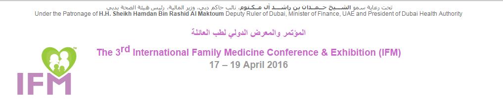 3rd International Family Medicine Conference & Exhibition | AllCongress