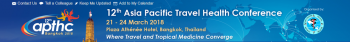 12TH ASIA PACIFIC TRAVEL HEALTH CONFERENCE