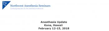 Anesthesia Update Kona