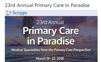 23RD ANNUAL PRIMARY CARE IN PARADISE