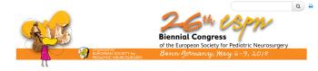 26th Biennial Congress of the European Society for Pediatric Neurosurgery (ESPN)