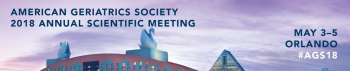 Annual Scientific Meeting of the American Geriatrics Society (AGS) 2018