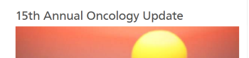 15th Annual Oncology Update