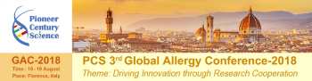 PCS 3rd Global Allergy Conference 2018