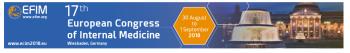 17th European Congress of Internal Medicine (ECIM 2018)