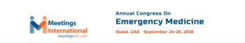 Annual Congress on Emergency Medicine 2018