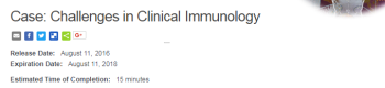 Challenges in Clinical Immunology
