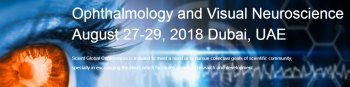 World Conference on Ophthalmology and Visual Neuroscience 2018