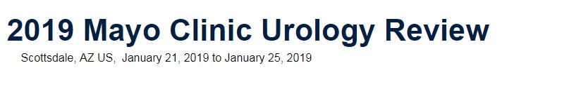 Mayo Clinic Urology Review 2019 | AllCongress