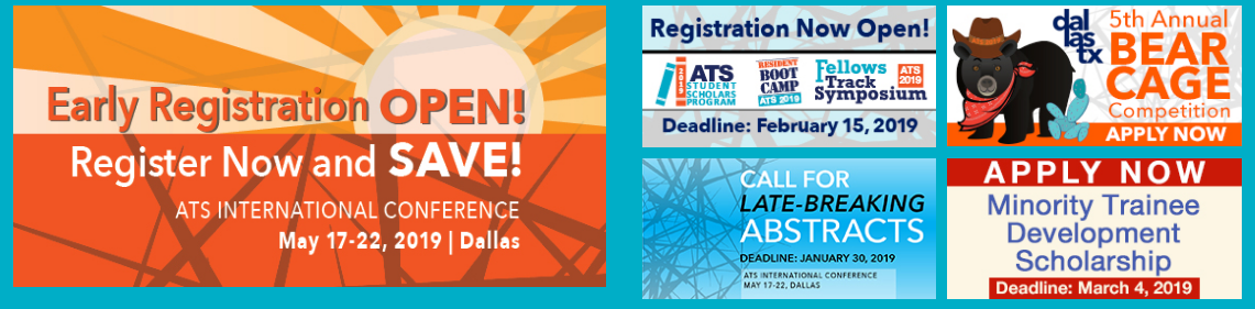 ATS 2019 - American Thoracic Society International Conference