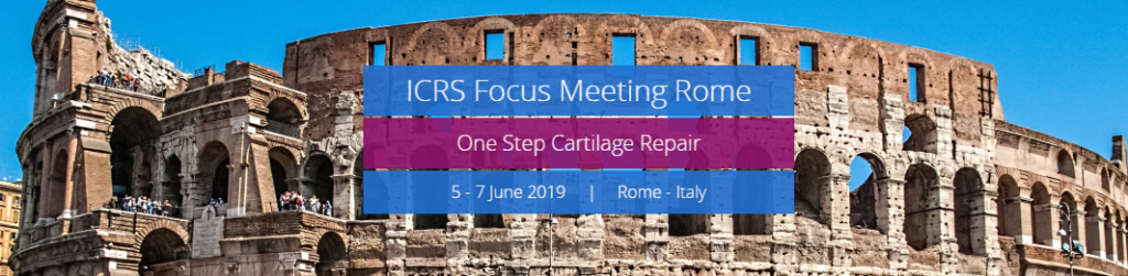 International Cartilage Repair Society (ICRS) Focus ...
